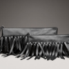 Bottega Veneta Intrecciato Fringe Clutch: Drop It Down