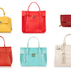 Salvatore Ferragamo Summer Sales: Deep Orange, Vanilla Yellow, Cherry Red Oh My!