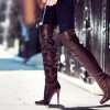 Jimmy Choo Giselle Boots: Over The Knee Trend