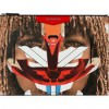 Givenchy Antigona Clutch In Tribal Girl Prints