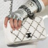 Chanel Classic Flap Bag Embroidered with Chains