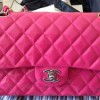 Chanel Classic Flap Bag in Fuchsia