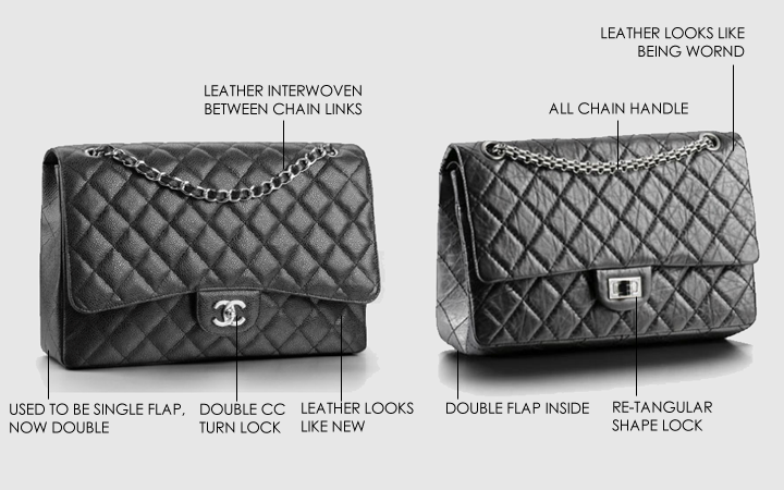 ec759342320e What Is The Difference Between Chanel Classic Flap Bag And Chanel ...