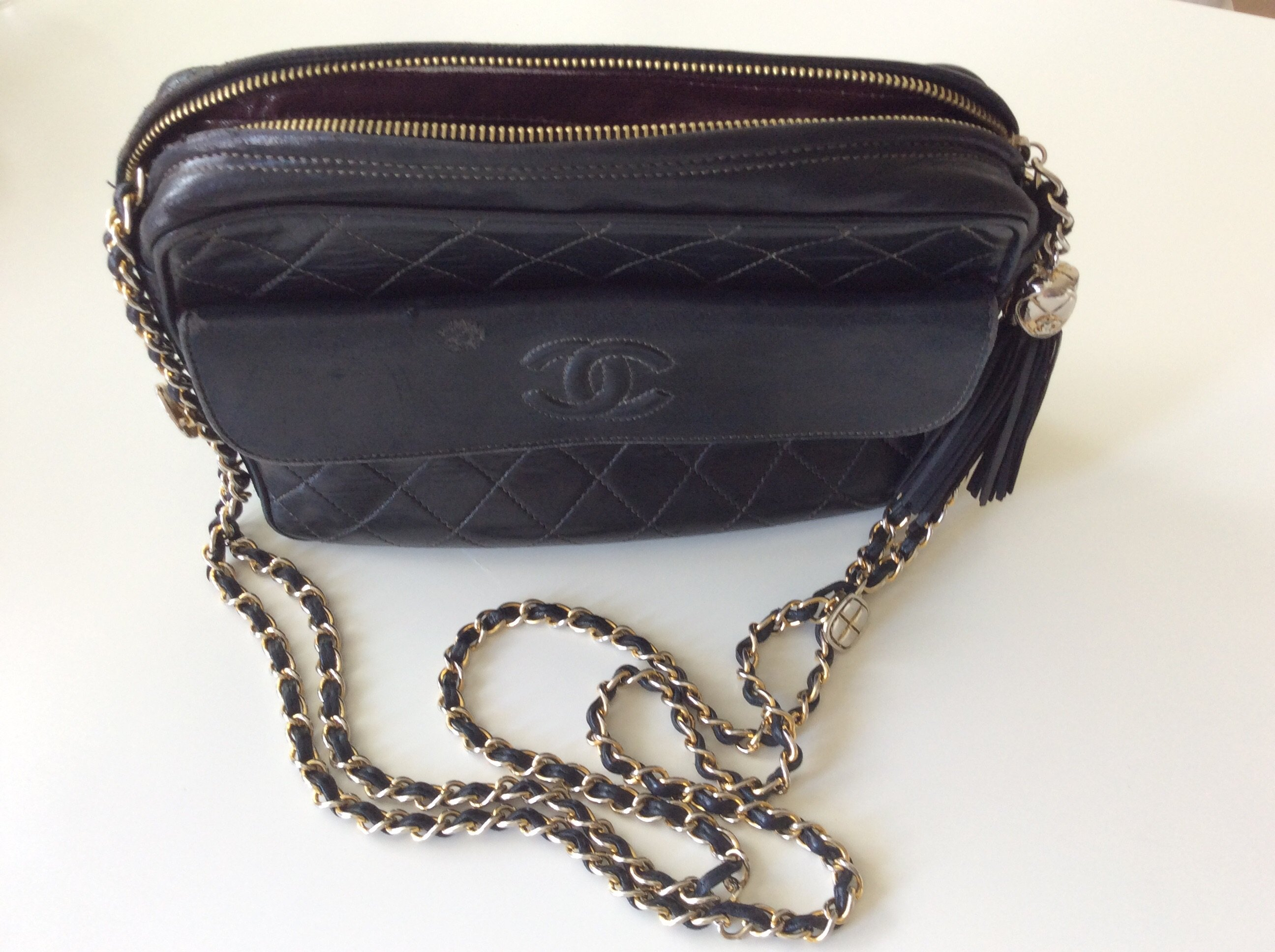 handbags shopping totes the large products women in tote chains enlarged chanel