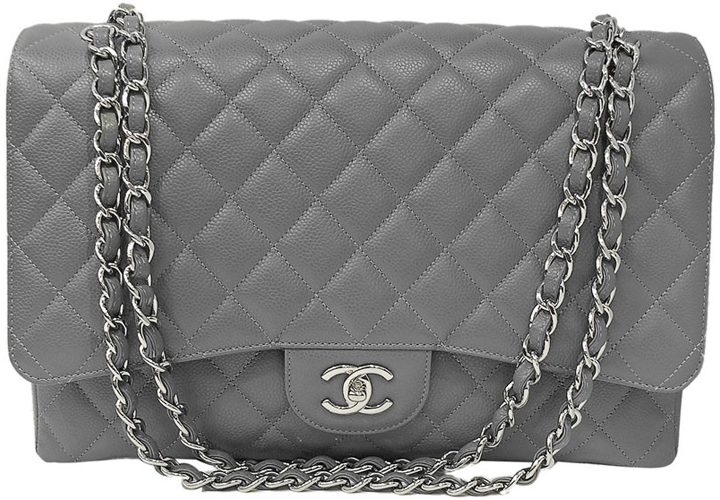 fd9301d685d3 Chanel Classic Maxi Flap Bag Review – Bragmybag