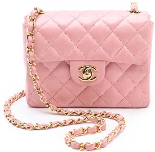 Chanel Mini Classic Flap In Pink 1
