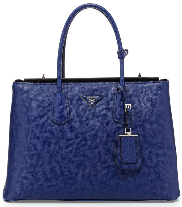 Prada-Saffiano-Cuir-Twin-Bag