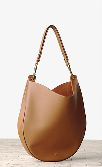 Celine-Camel-Hobo-and-Black-Bag-1