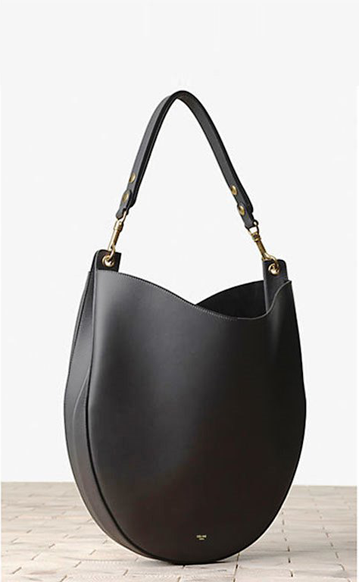 Celine-Camel-Hobo-and-Black-Bag-2