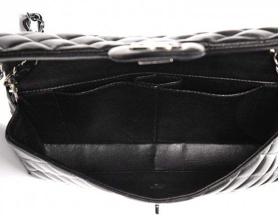 Chanel east west bag black