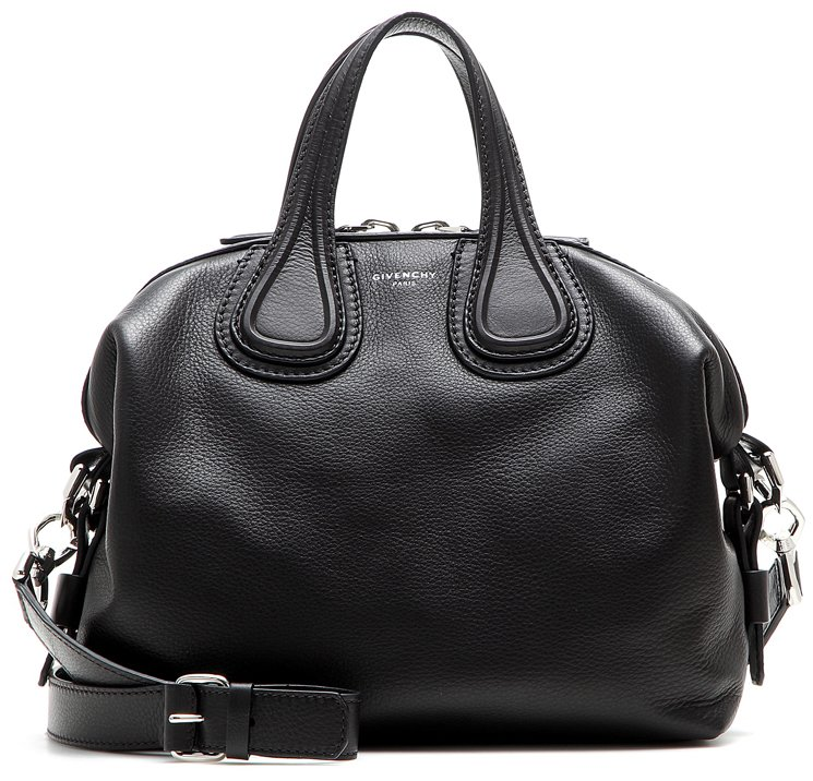 Givenchy Top Handle Handbag, Black, Leather, 2017, one size