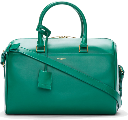 b4dcde72e0c3 Saint-Laurent-Leather-Bo-Duffle-Bag-in-Emerald-