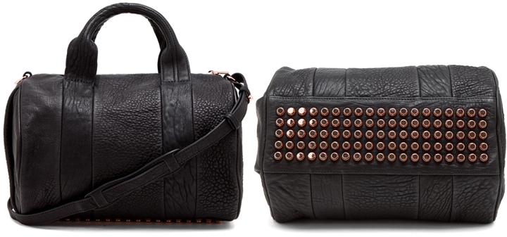 alexander wang studded rocco bag bragmybag. Black Bedroom Furniture Sets. Home Design Ideas
