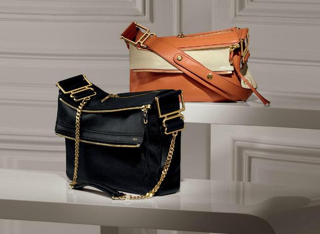 Chloe Vanessa Leather Shoulder Bag 102