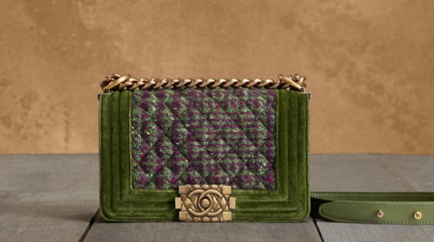 chanel-boy-flap-bag-in-tweed-and-velvet-with-a-quilted-effect-metal-clasp-1