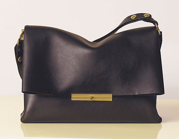 celine blade leather bag