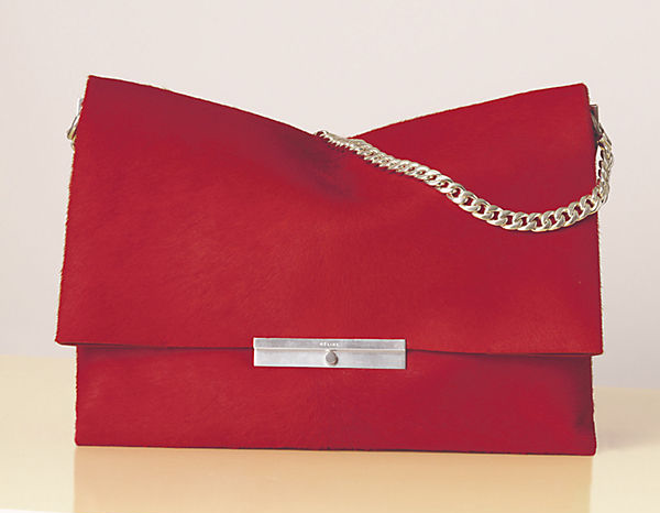 eb50a92fe79e Celine-blade-bag-in-Red-with-Chain-1