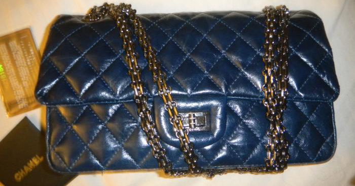 Chanel-reissue-2.55-size-225-medium-in-blue-distressed-1