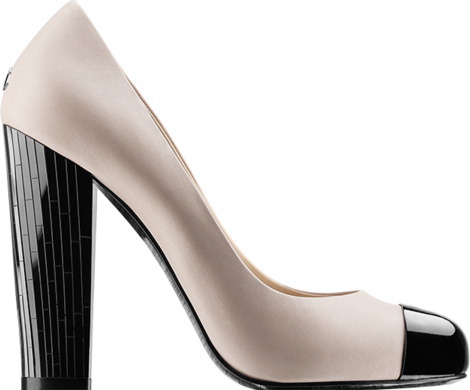 chanel-Pumps-two-tone-calfskin-pumps-with-105mm-mirror-heel-1