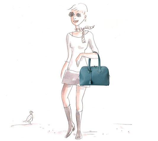 Hermes Victoria II Bag: An Effortless Playful Accessory | Bragmybag