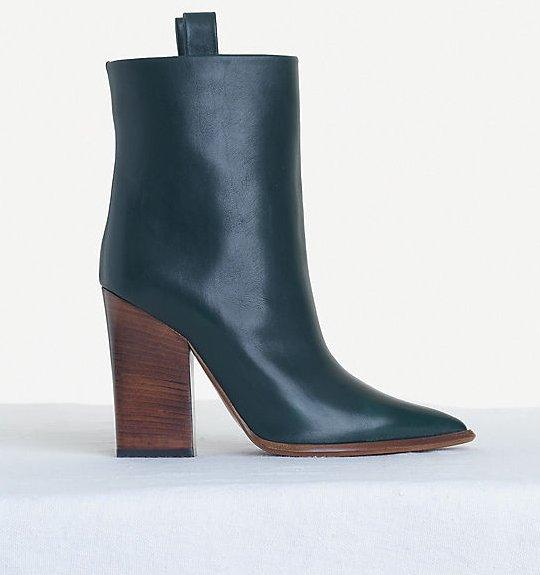 Celine-Angular-Chunky-Ankle-Boot-in-Shiny-Calfskin-Black-1
