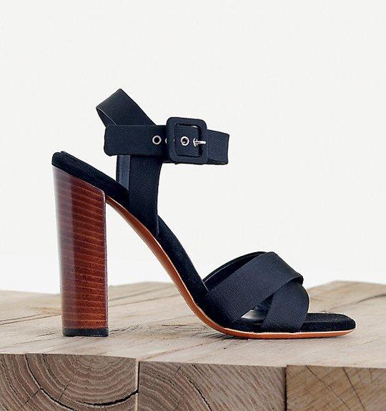 Celine-Easy-Sandal-in-Gros-Grain-Black-1