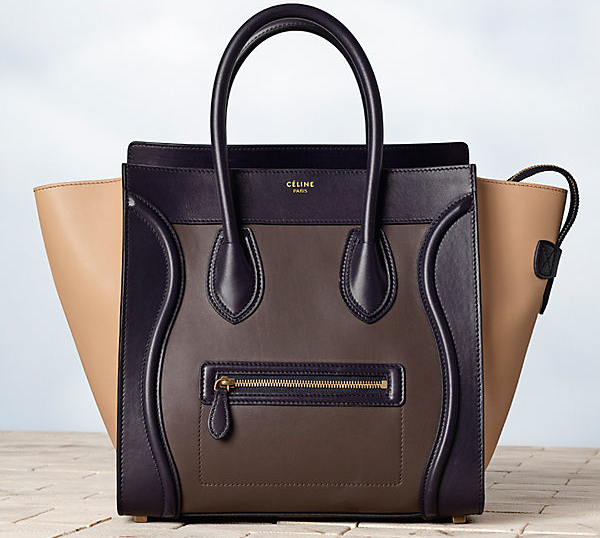 Celine-Luggage-Multicolour-in-Calfskin-Satin-Anthracite-1