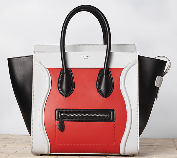 Celine-Luggage-Multicolour-in-Calfskin-Satin-Vermillon-1
