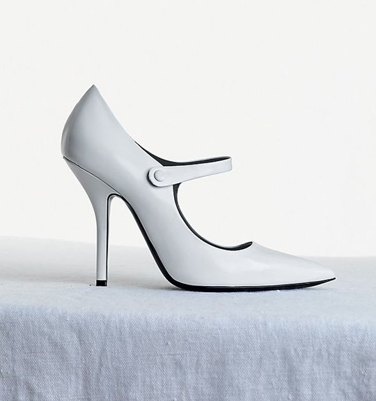 Celine-Mary-Jane-Essentials-Skinny-Heel-Pump-in-Brushed-Calfskin-White-1