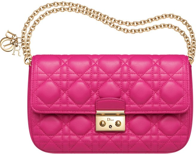 Miss-Dior-Promenade-Pouch-Bag-fuchsia-leather-1