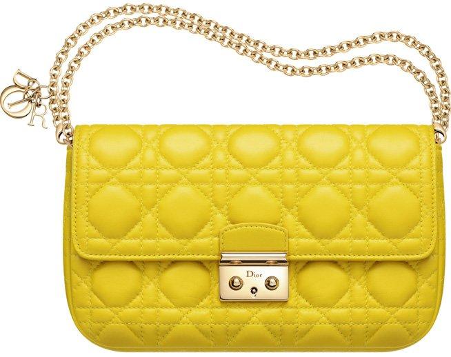 Miss-Dior-Promenade-Pouch-Bag-jaune-vif-leather-1