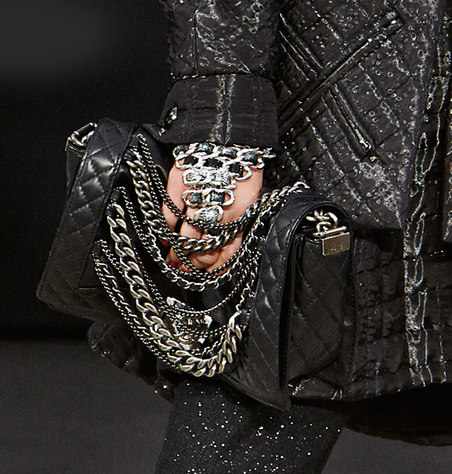 00b21eb15cdc chanel-boy-bag-in-black-and-chain. It s almost September