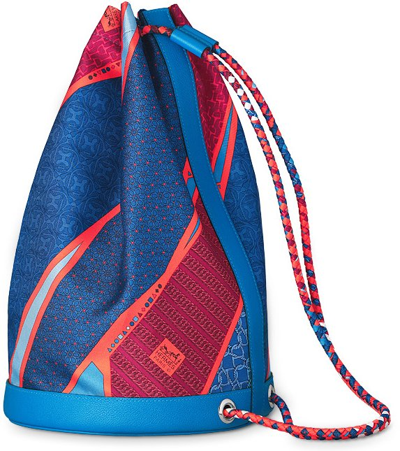 hermes-soie-cool-bag-Carre-en-Cravates-in-hydra-blue-1