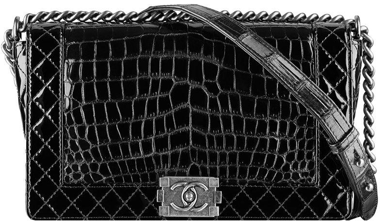 Alligator Boy Chanel Flap Bag 2