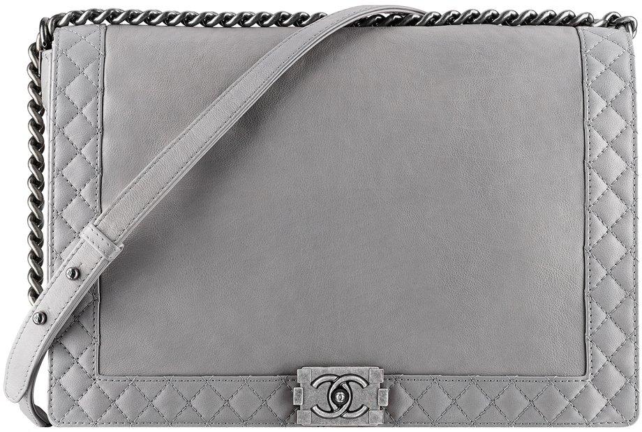 Calfskin Boy Chanel Flap Bag 2