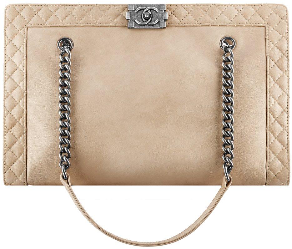 Calfskin Boy Chanel Flap Bag 3