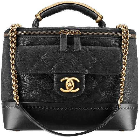 Chanel-Iridescent-Grained-Calfskin-Vanity-Case-with-a-metal-handle-1
