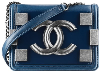 Chanel-Lambskin-flap-bag-with-clasp-blue-1