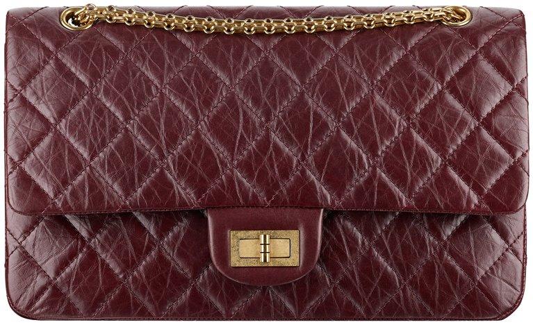 Chanel-Large-Aged-calfskin-255-flap-bag-1