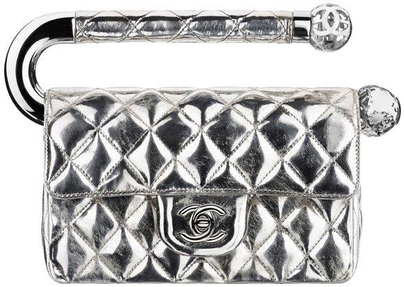 Chanel-Shiny-Lambsin-Evening-Flap-Bag-Silver-1