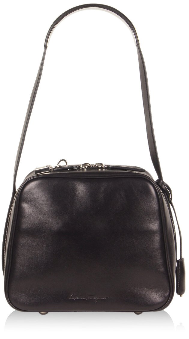 Ferragamo Camera Bag in Black at e-store for 1,790