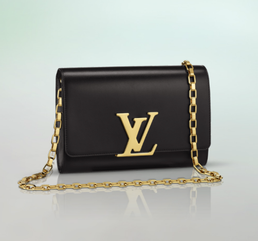 Louis-Vuitton-Black-Chain-Louise-Bag-1