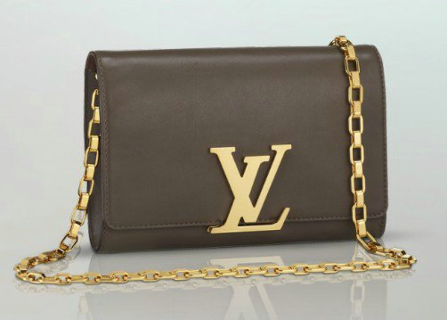 Louis-Vuitton-Gris-Chain-Louise-Bag-1