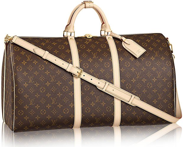 Louis Vuitton Keepall Bandouliere Monogram Bag