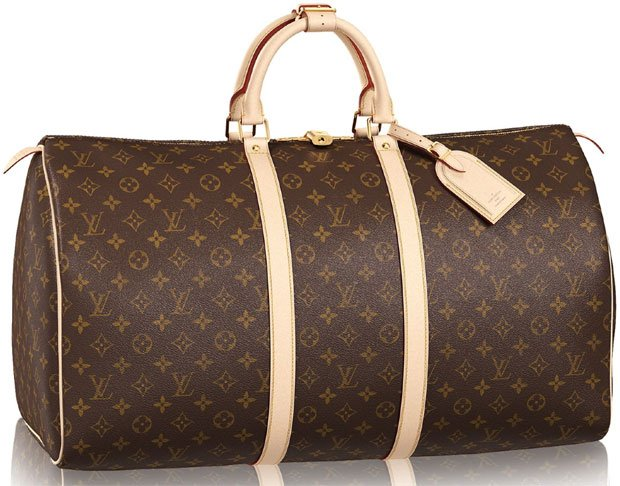 Louis-Vuitton-KeepAll-Monogram-Bag
