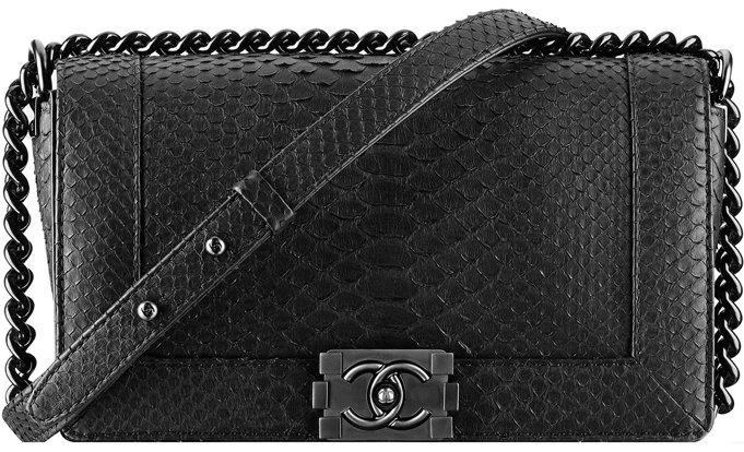 Python Boy Chanel Flap Bag