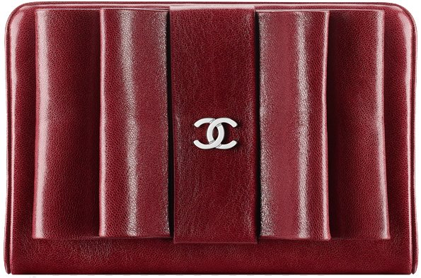 chanel-small-wallet-red