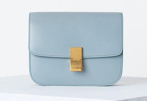 celine blue backpack