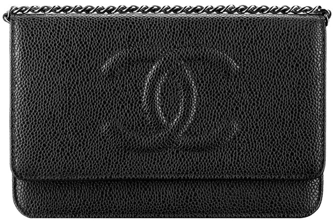 Chanel-Wallet-On Chain-In-Grained-Calfskin-Classic