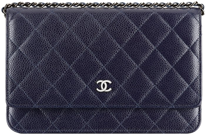 Chanel-Wallet-On-Chain-In-Iridescent-Grained-Calfskin-Quilted